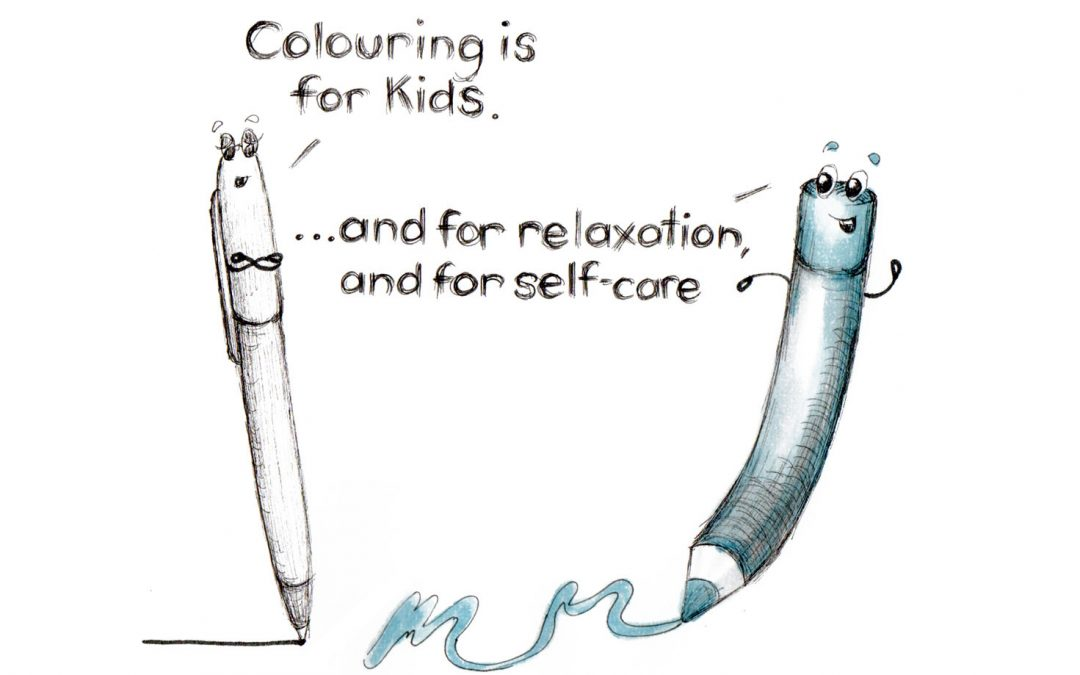 Colouring as Self-care for Adults – Sunrise Senior Living Workshop