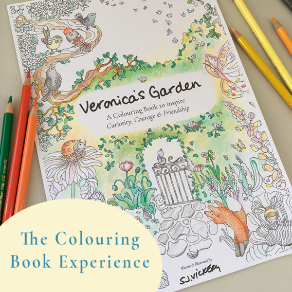 The Colouring Book Experience with Sarah Jane Vickery