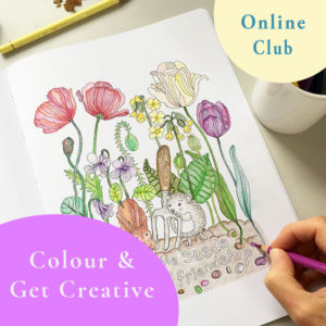 colouring club for adults