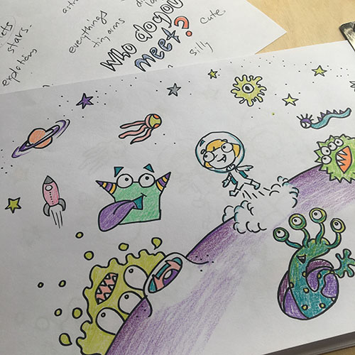 cartoon club online art classes for kids