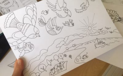 Drawing birds and the concept of Viewpoint   Creative Thought Thursday
