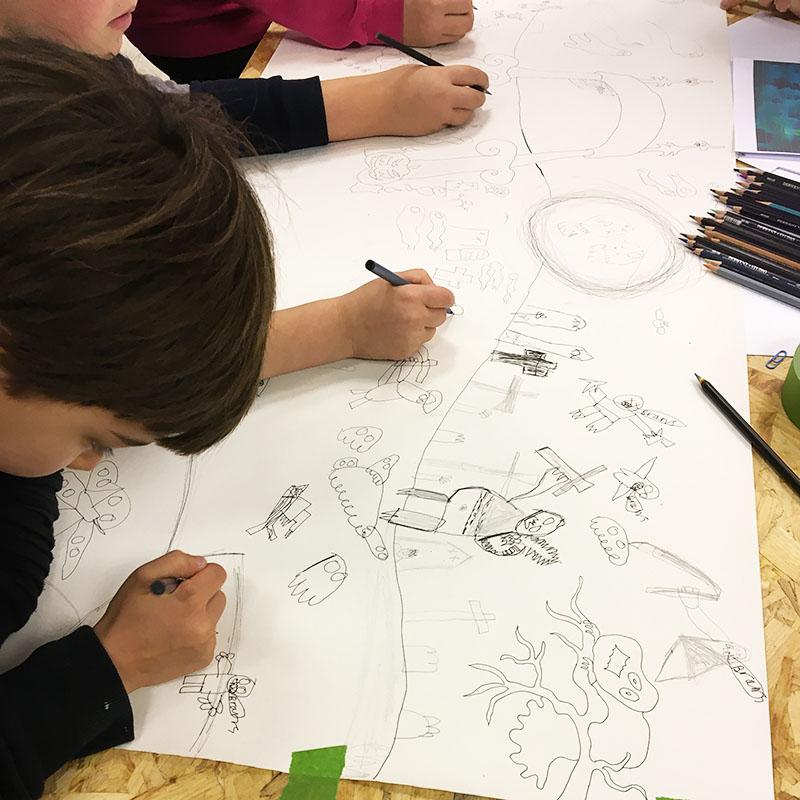 Cartoon club for kids