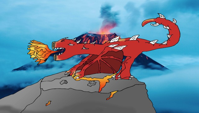 How to turn your Cartoon doodles into digital art using Photoshop – Dragons galore!