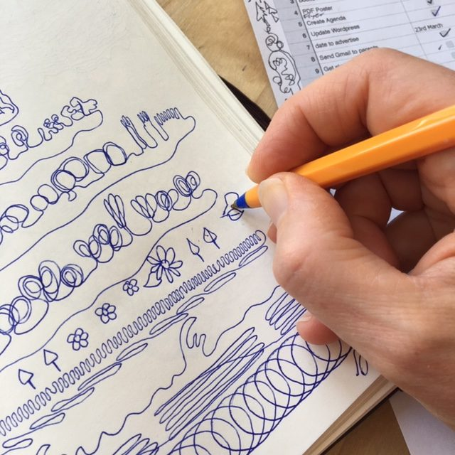 do you doodle at your desk
