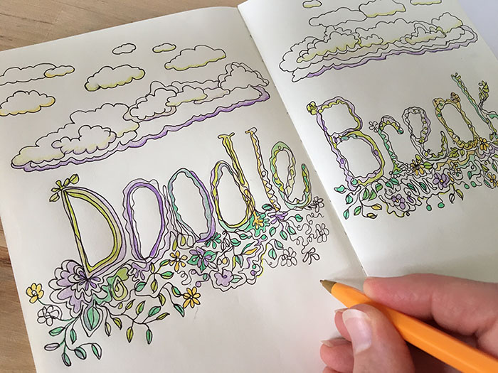Do you Doodle at your Desk? You're doing yourself good! Read on…