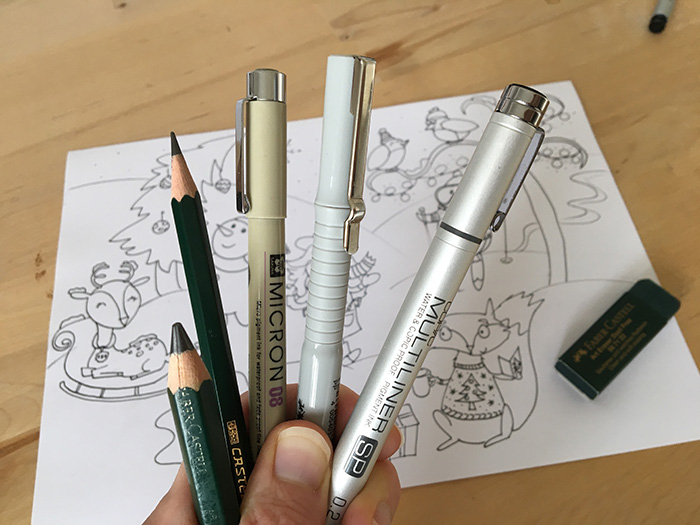 my top 8 picks for art supplies for cartooning
