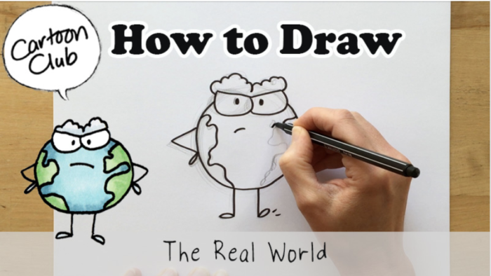How-to-Draw – The Real World!